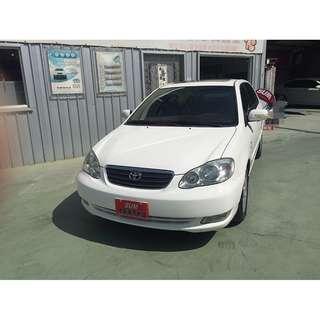 【SUM尼克汽車】2005 Toyota Corolla Altis 1.8L