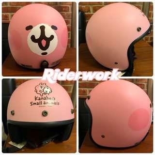 全新現貨🎉卡娜赫拉3/4罩復古安全帽-送抗UV鏡片