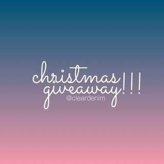 CHRISTMAS GIVEAWAY!!!