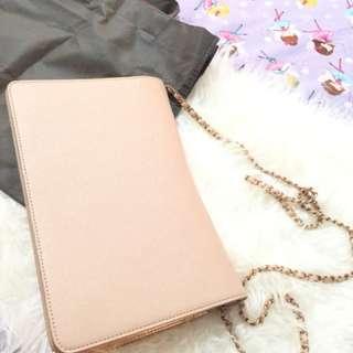 Charles n keith bag pink