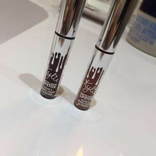 2 holiday kylie cosmetics mini liquid lipsticks