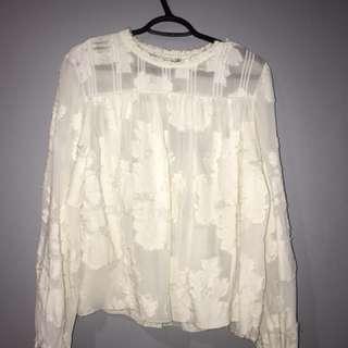 Aritzia Wilfred Lourdes blouse M
