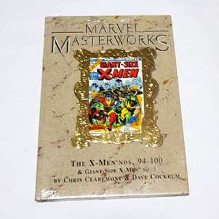 MARVEL MASTERWORKS X-MEN LIMITED EDITION GOLD FOIL VARIANT