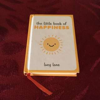 The Little Book of Happiness by Lucy Lane