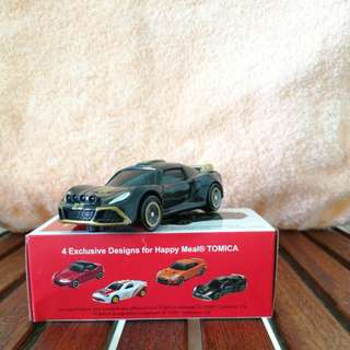 McDonald's TOMICA cars