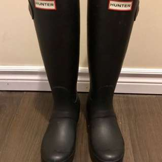 Hunter Boots In Perfect Condition- Size 6