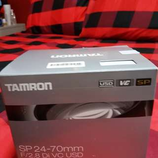 TAMRON-NIKON Mount Brand new SP24-27mmF/2.8Di VC USD, never use it,I bought$1200+got receipt , Open Trade,also selling Nikon 50mmf/1:1.8G,TOKINA ,12-24mm f4 11,All full Box. no scratches fungus good condition.
