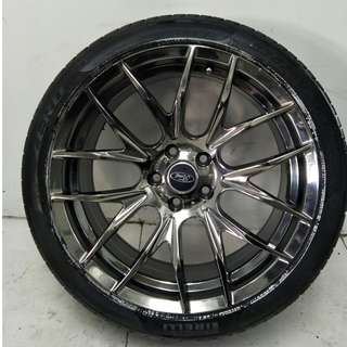 18 '' Sport Rim With Tyre 5x108 (SR751)