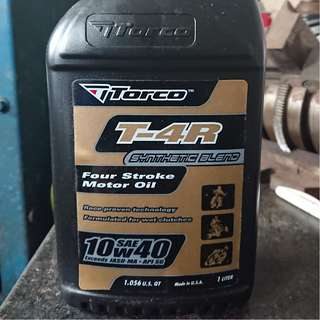 Torco T4-R Engine Oil 10W40