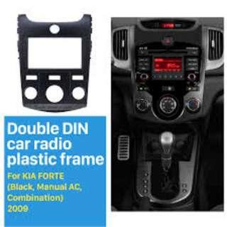 Kia Forte Double Din Audio Frane