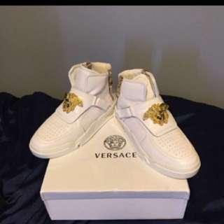 Versace Hi Top shoes