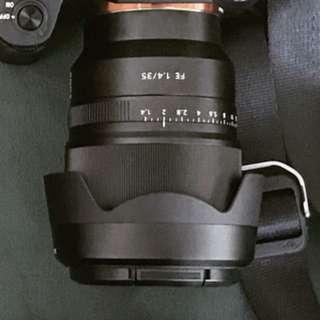 Sony zeiss 35mm 1.4