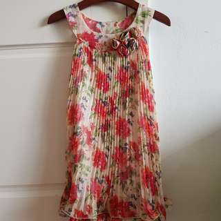 Sugar reef floral swing dress