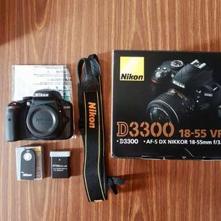 📷 [SALE] Nikon D3300 DSLR Camera Body