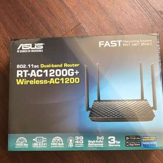 Brand New Sealed ASUS RT-AC1200G+