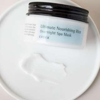 READY STOCKS | Cosrx Ultimate Nourishing Rice Overnight Spa Mask