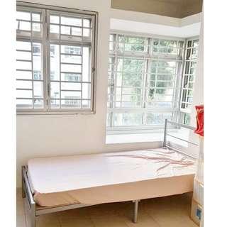 106 Ang Mo Kio Ave 4  (Small Bedroom)  - Near Market !! Wifi , Prefer Female Tenants!