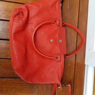 Longchamp le piaget cuir leather