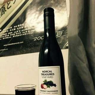 美國加洲洋蔥紅酒