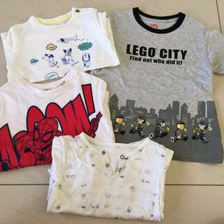 Assorted Kids T-shirt- ALL FOR RM12