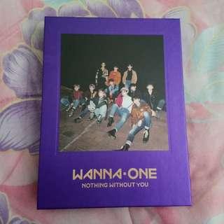 Woojin full set Wanna One NWY album