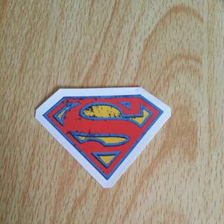 Superman Sticker!!