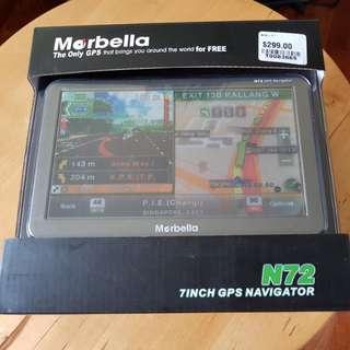 """Marbella N72 7"""" GPS Navigator"""