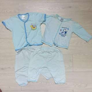 4 pcs set baby boy clothing