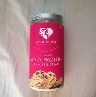 Women's best whey protein powder