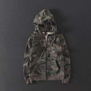 Camo Hoodie Jacket
