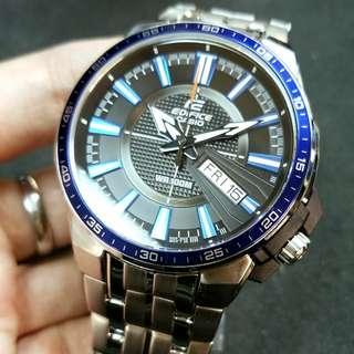 CASIO watch EFR-106D-1A2 EFR-106D 鋼帶星期日曆 手錶 EDIFICE