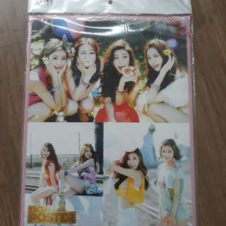 Girl's Day Posters (FROM KOREA)