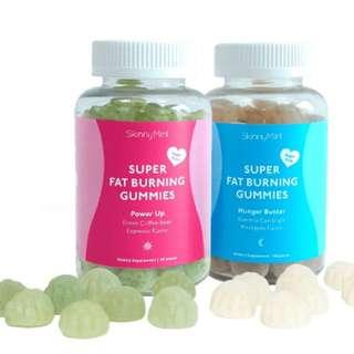Skinny Mint Super Fat Burning Power Up Gummies
