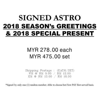 SIGNED ASTRO