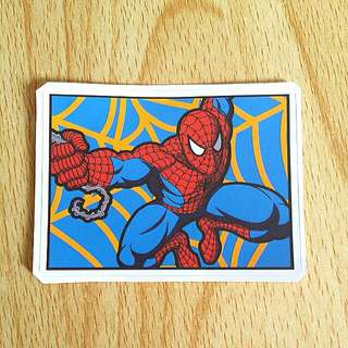 Spiderman Sticker!!