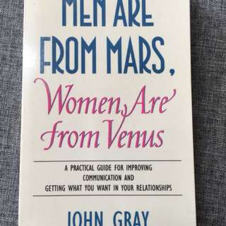Men are from Mars, 1001 ways to be Romantic, edward de bono six thinking hats