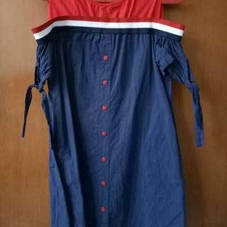 DRESS WANITA MURAH / TERUSAN SABRINA