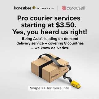 Pro courier services starting at $3.50. Yes, you heard us right!