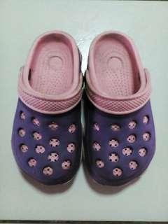 (Preloved Item) Purple Pink Slipper