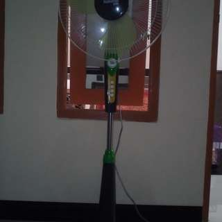 Kipas Angin Berdiri Standing Fan National Plus 16 Inch Mulus