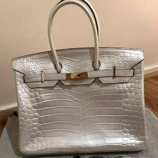 Hermes Birkin Bag Brand New