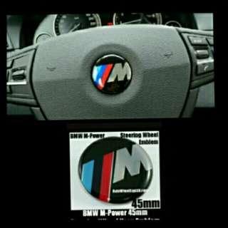M-logo on BMW Steering