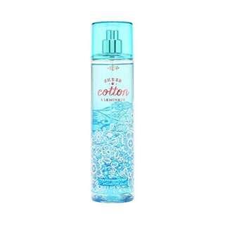 Bath & Body Works Fine Fragrance Mist Sheer Cotton & Lemonade
