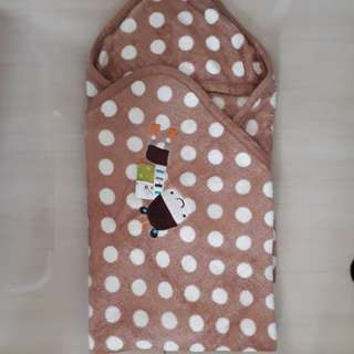 Selimut Baby Bayi Lembut  / Blanket Baby with Hoodie