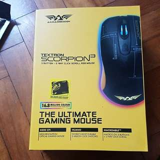 Armaggeddon Textron Scorpion3 Gaming Mouse
