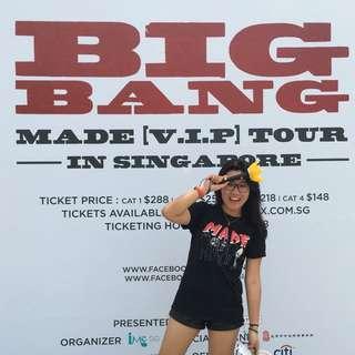 Authentic BigBang MADE t-shirt