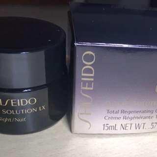 (Deluxe sample) Shiseido future solution total regeneration cream 15 ml in glass jar