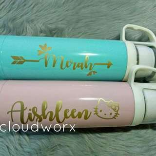 ❤Personalized thermos❤