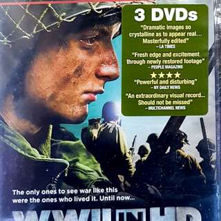 DOC : WWII IN HD 3DVD