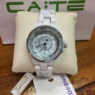 "Caite "" Longbo "" Ceramic Watch"